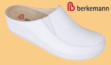 Clogs Berkemann Celle SUPERWEICH Damen weiß