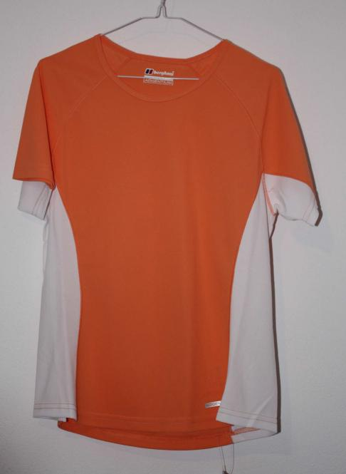 Berghaus Shirt Relaxed orange weiß