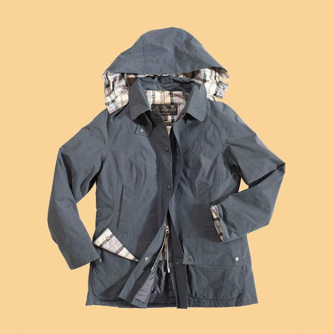 Barbour City Beadnell Parka navy