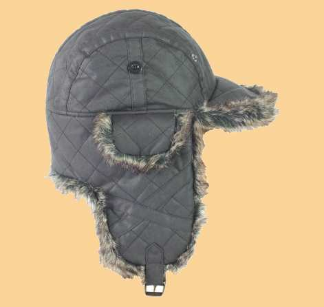 Barbour Mütze Quilted Wax Hunter